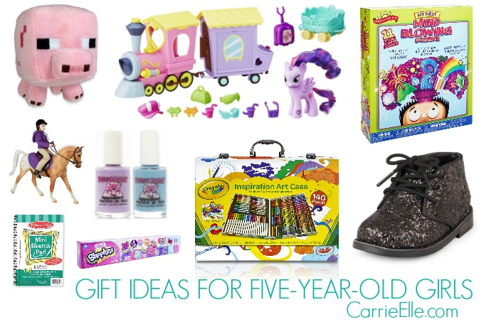 Gift Ideas For 5-Year-Old Girls