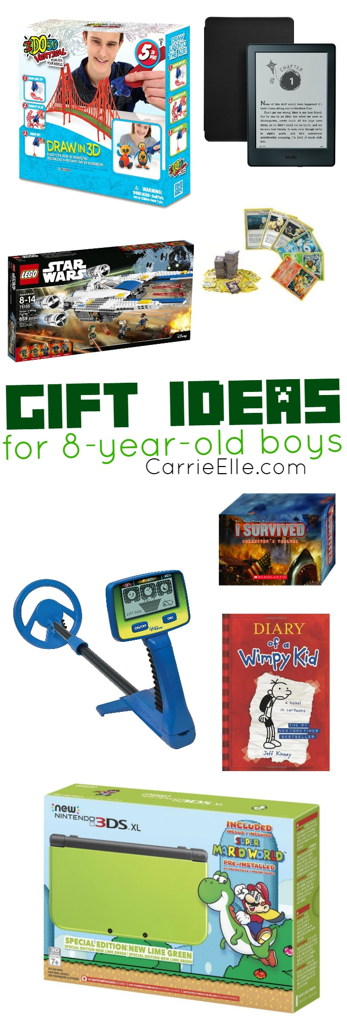 Gift Ideas for 8-Year-Old Boys
