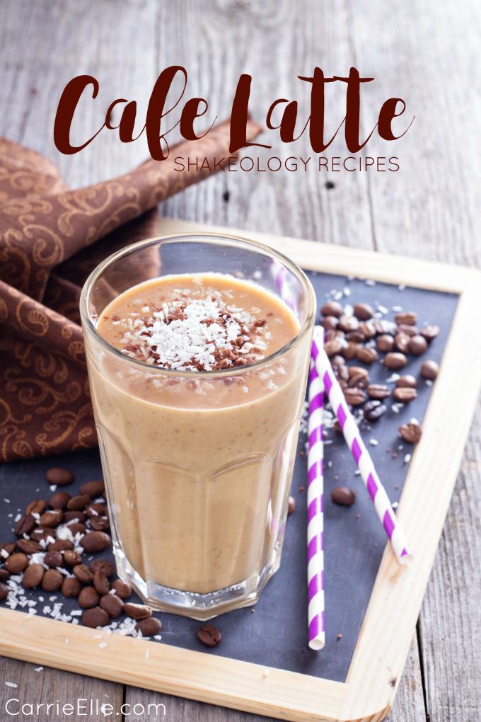 Cafe Latte Shakeology Recipes