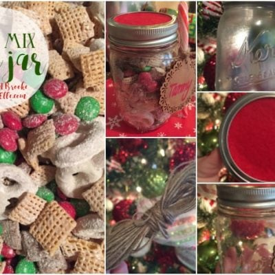 DIY Christmas Gifts: Chex Mix in a Jar