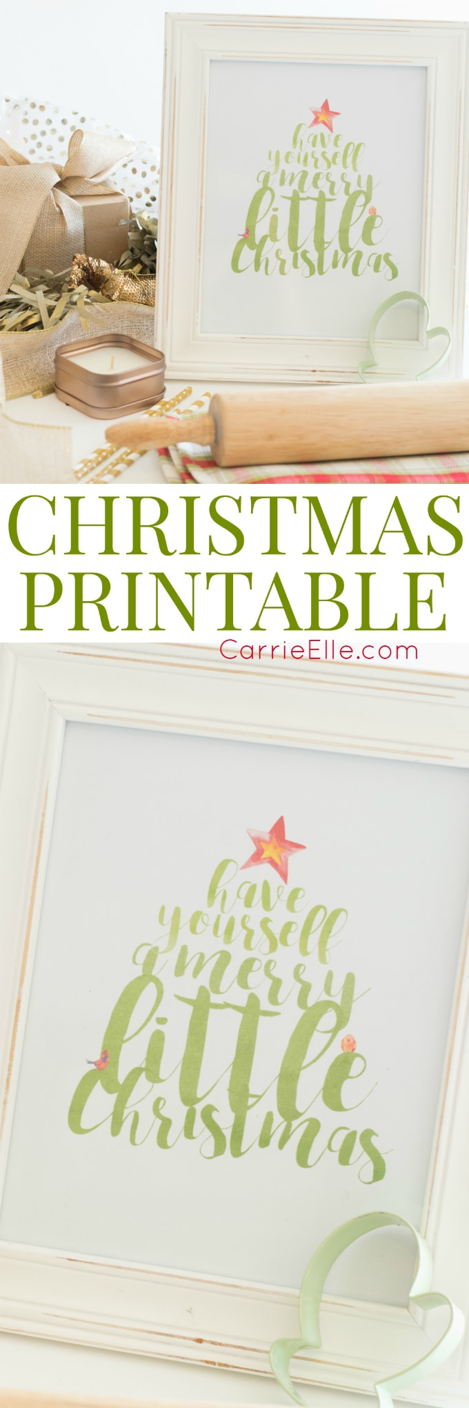 Christmas Printable Wall Art - Tree