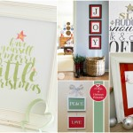 Printable Christmas Wall Art You're Going to Love!