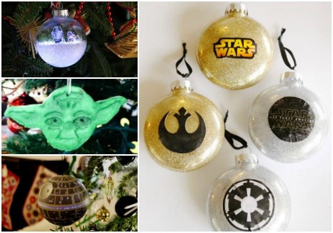 Diy Star Wars Ornaments Carrie Elle