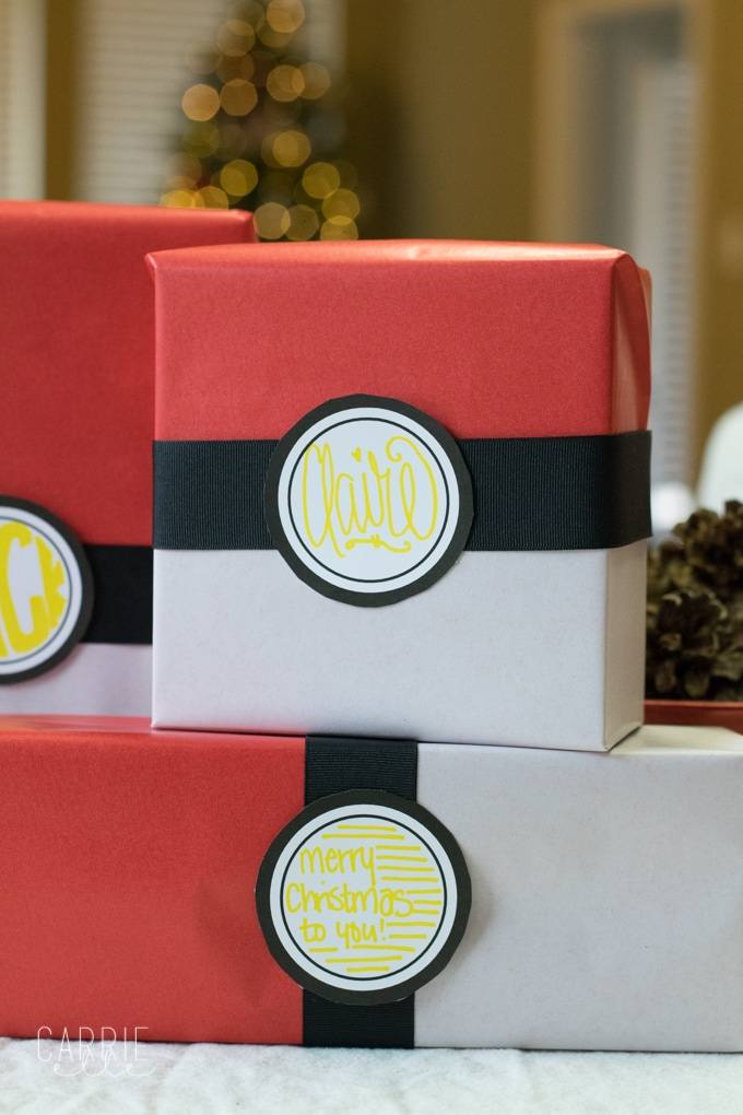DIY Pokemon Gift Wrap