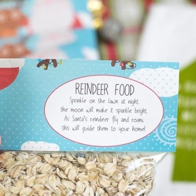 How to Make Reindeer Food (Free Printable Reindeer Food Poem Included)