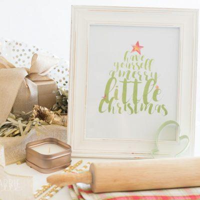 Printable Christmas Tree Wall Art