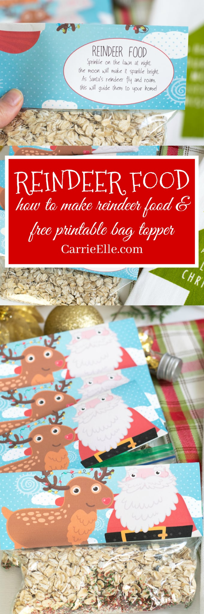 image regarding Reindeer Food Poem Printable referred to as How towards Create Reindeer Foods (No cost Printable Reindeer Foods Poem