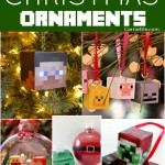 DIY Minecraft Ornaments