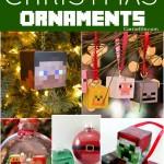 DIY Minecraft Ornaments
