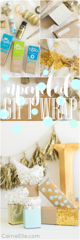 Upcycled Gift Wrap