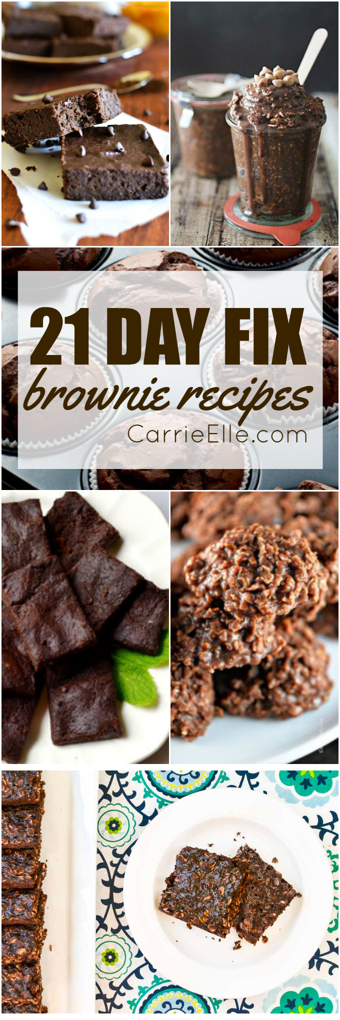 21 Day Fix Brownie Recipes