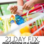 21 Day Fix Meal Planning on a Budget