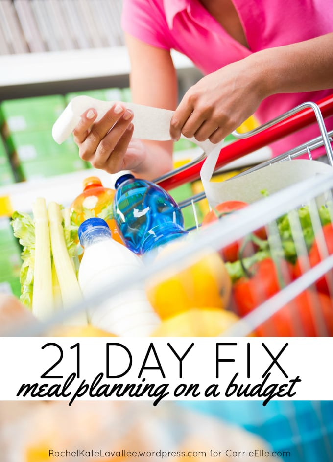 21 Day Fix on a Budget