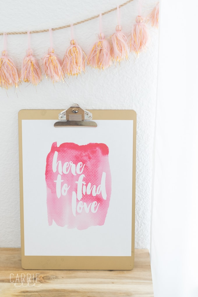 Printable Bachelor Wall Art