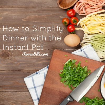 How I Save Money and My Sanity with the Instant Pot