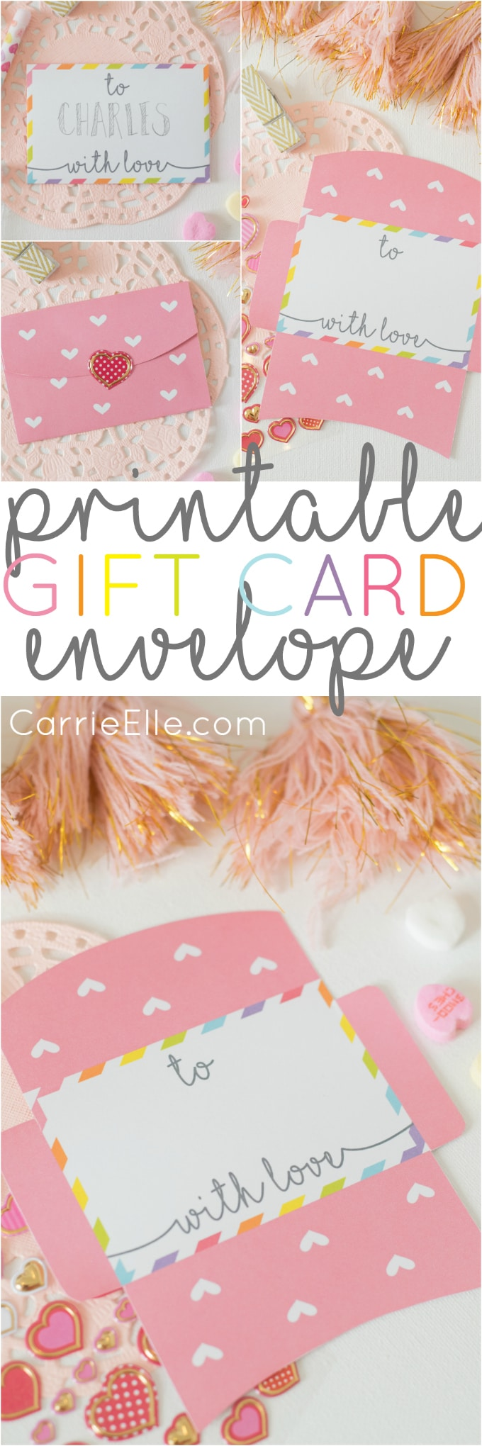 Printable Gift Card Envelope