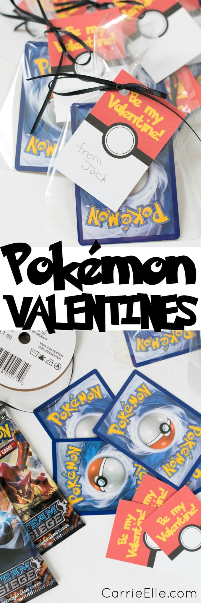 Printable Pokemon Valentines