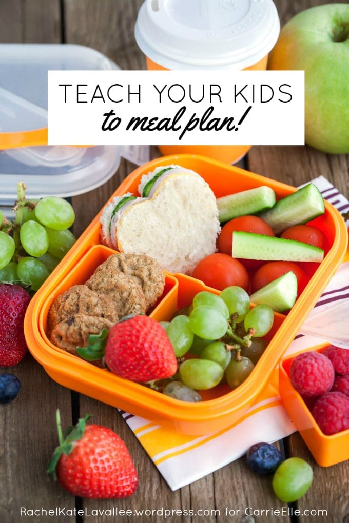 Meal Planning with Kids Get Kids Involved with this System – Meal Planning