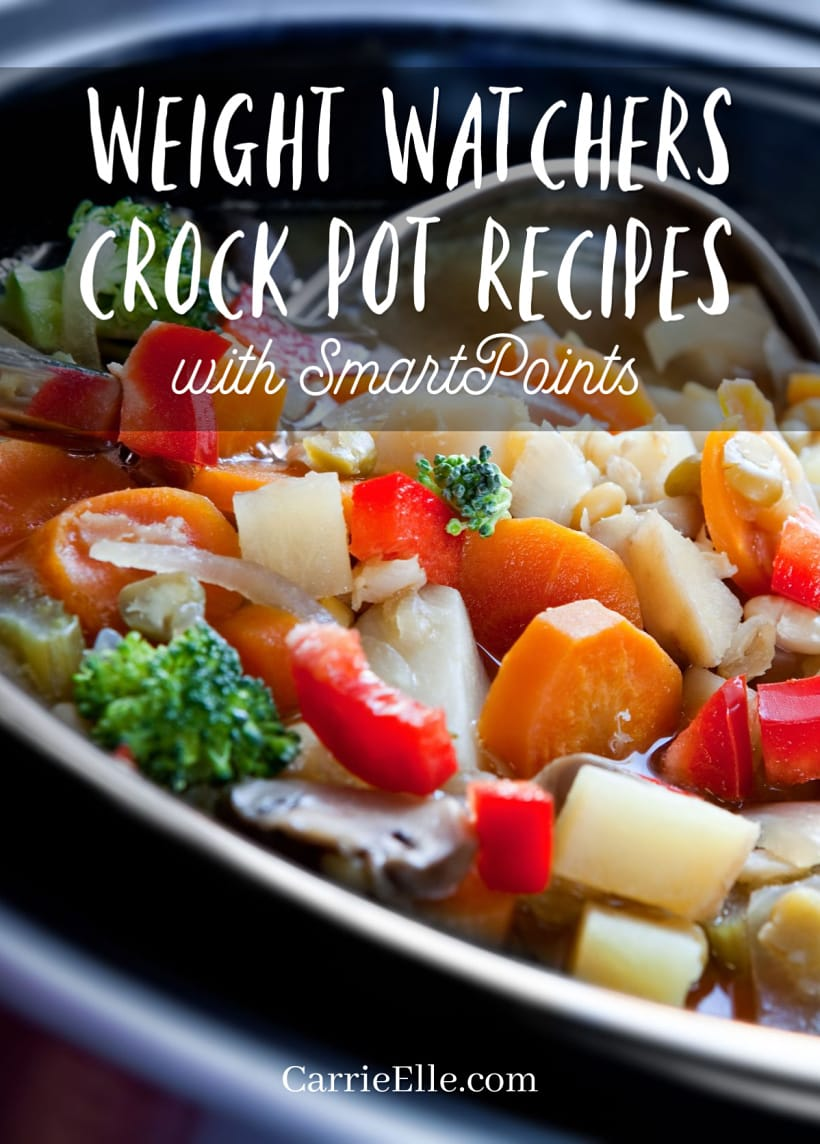 Weight Watchers Crock Pot Recipes with SmartPoints