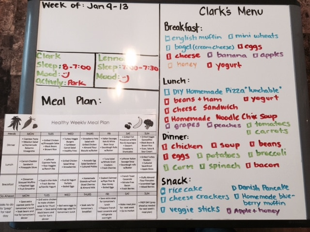 Healthy Meal Plan for Kids
