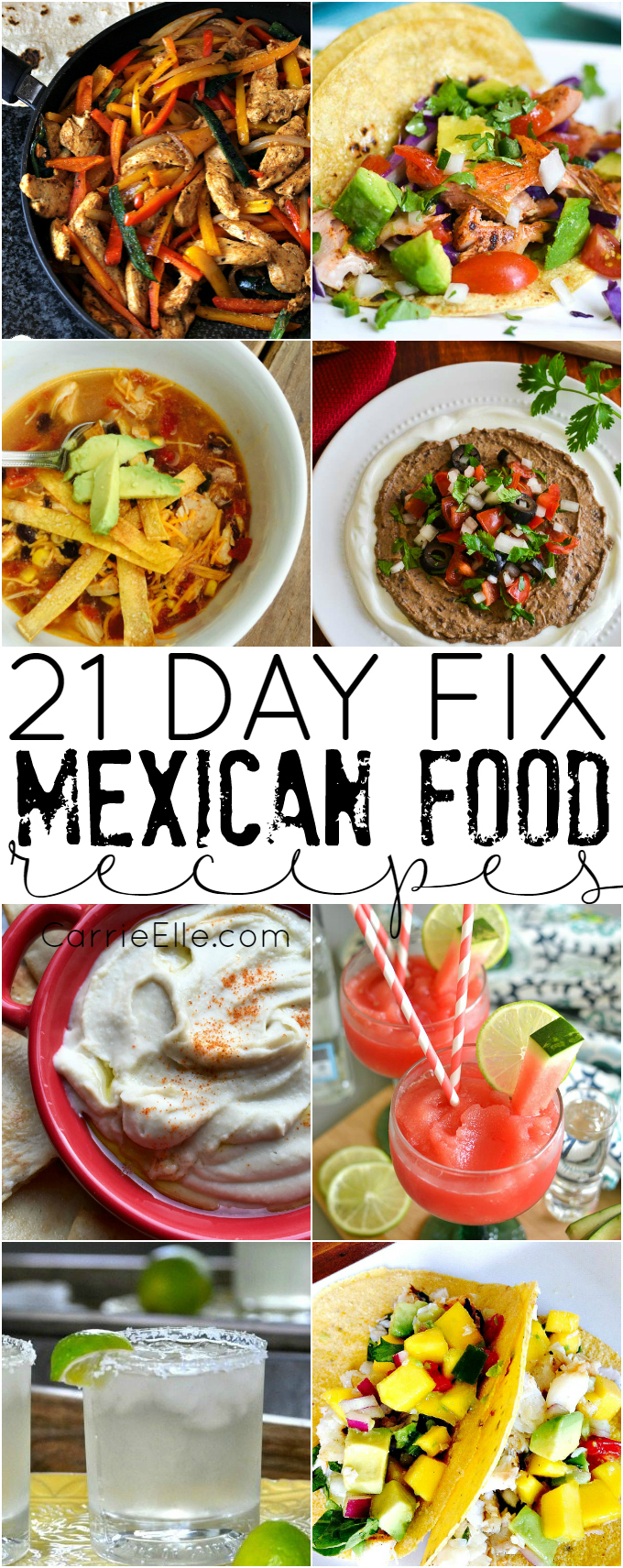 21 Day Fix Mexican Recipes