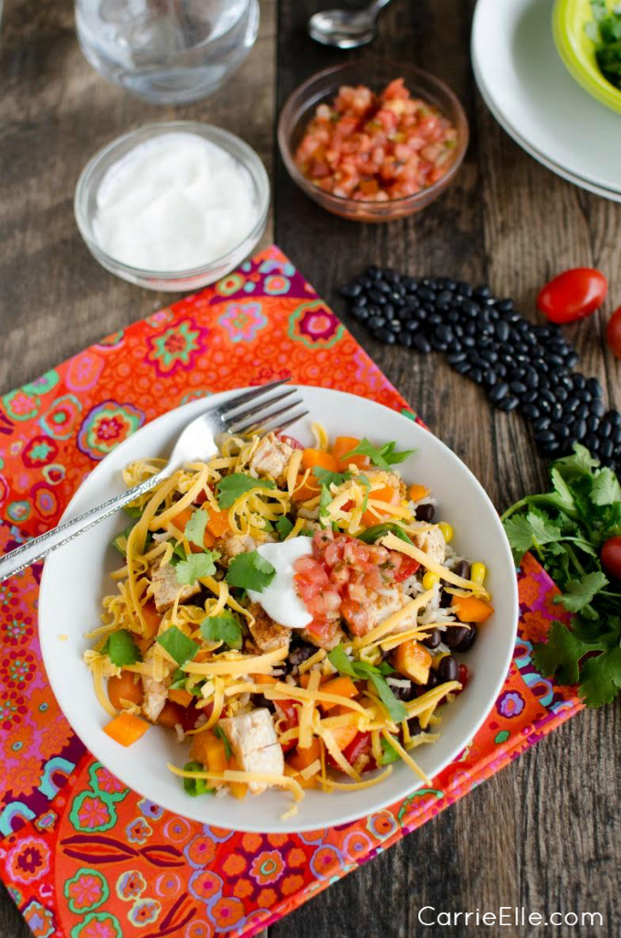 21 Day Fix Chicken Burrito Bowls