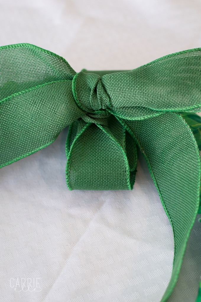 Easy St. Patrick's Day Wreath