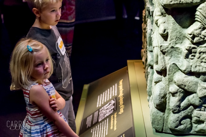 Maya Exhibit at Perot Museum