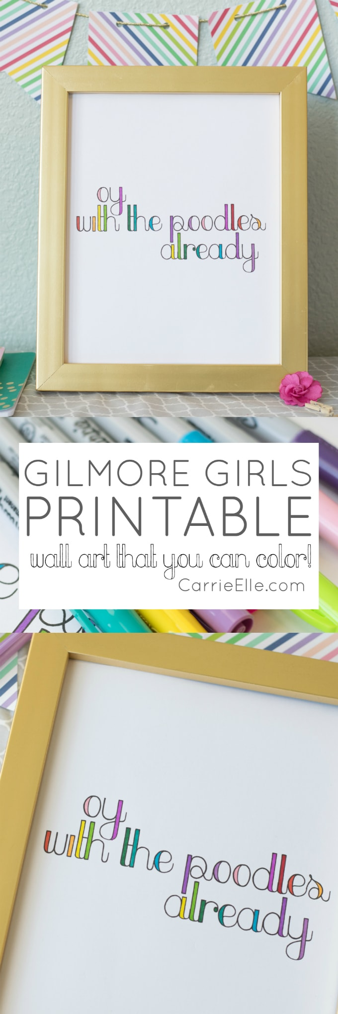 Gilmore Girls Printable Wall Art
