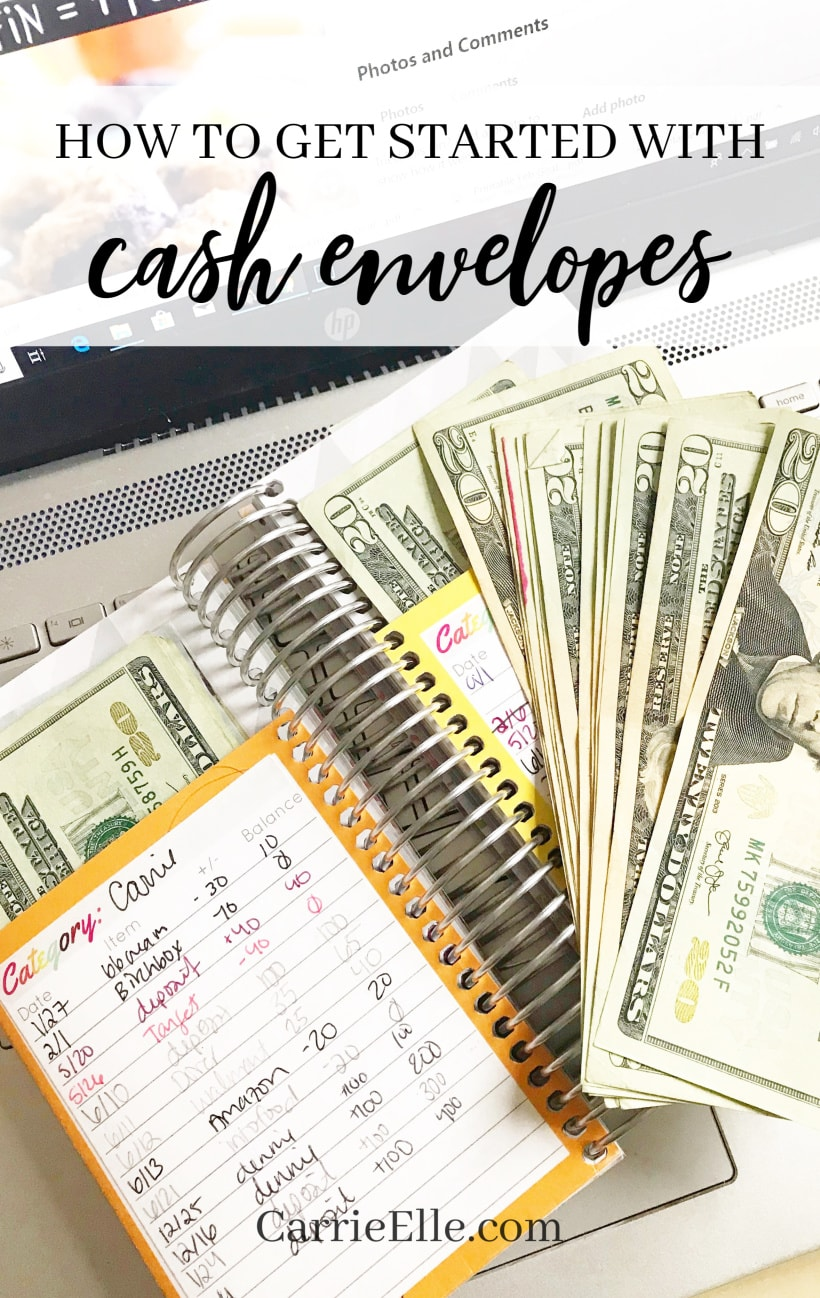 How to get started with cash envelopes