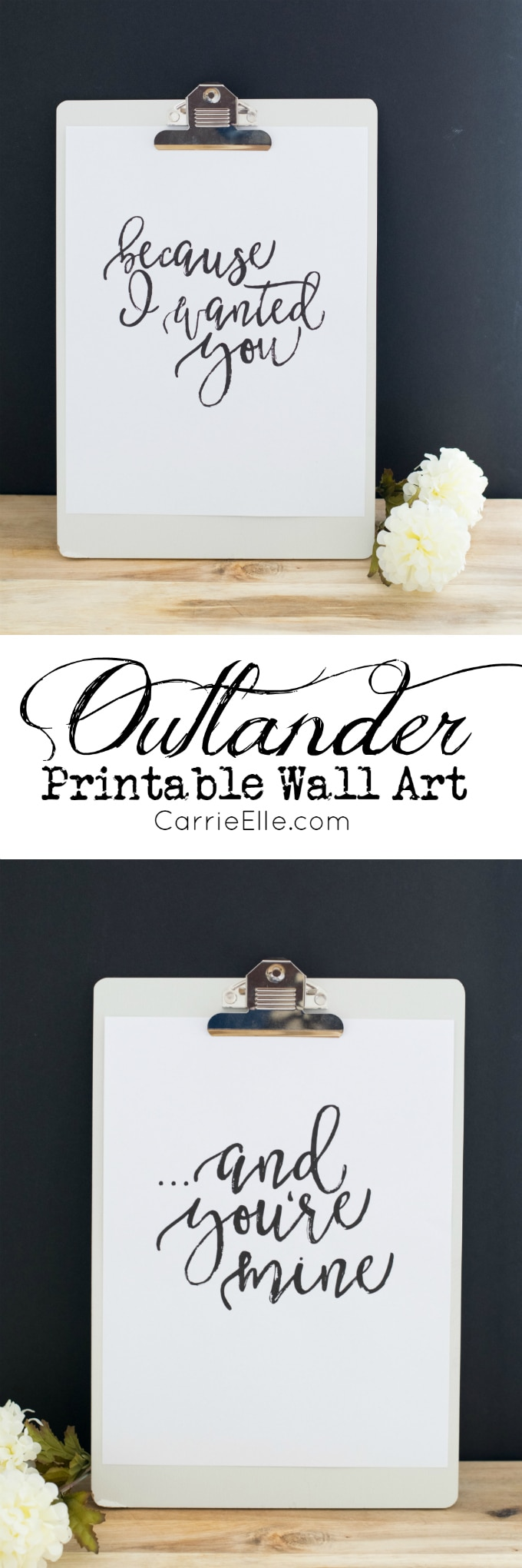 Outlander Printable Wall Art