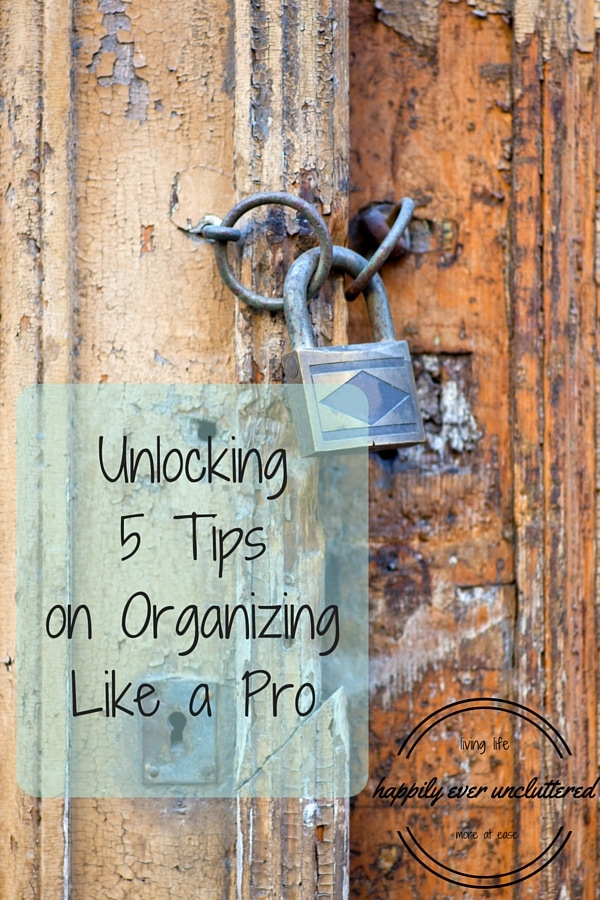 Wanting to organize an area in your home, but aren't sure how to get started? Here is how the Pro's get started. Everything you need to do to start organizing. Number 3 is my favorite.