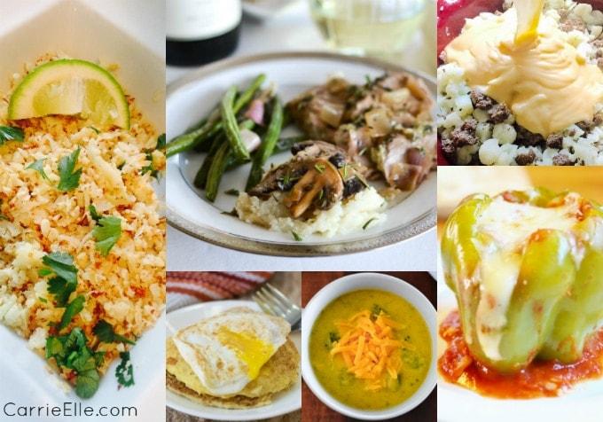 21 Day Fix Cauliflower Rice Recipes