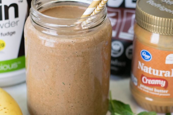 21 Day Fix Double Chocolate Peanut Butter Shake