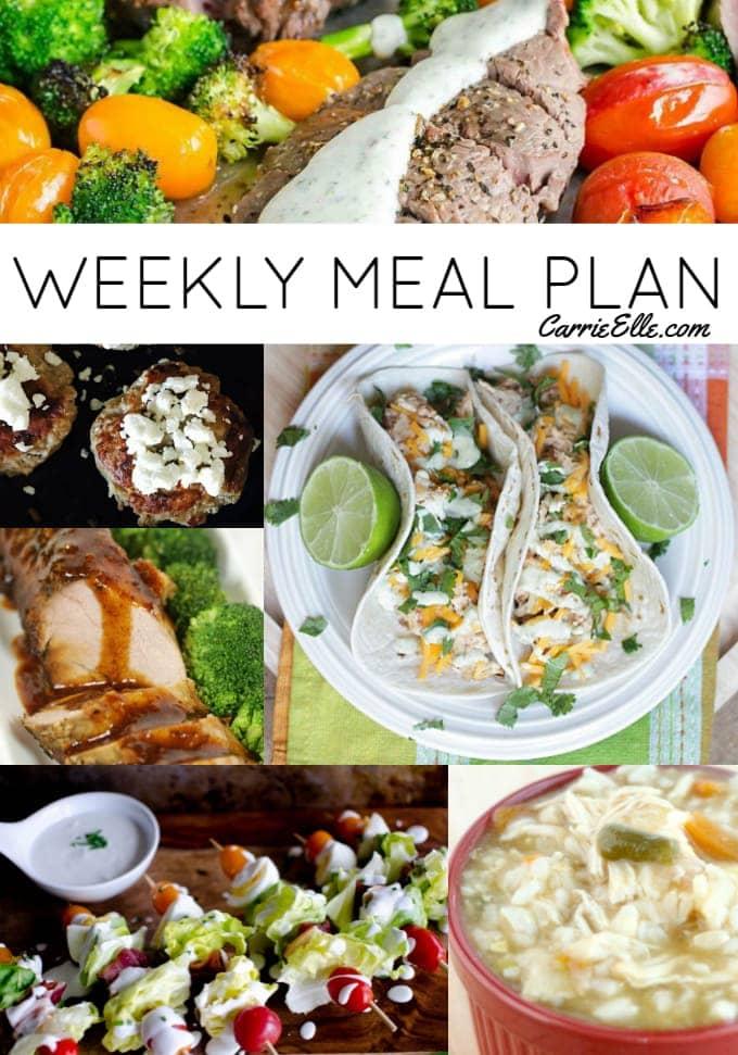 Free Weekly Meal Plan