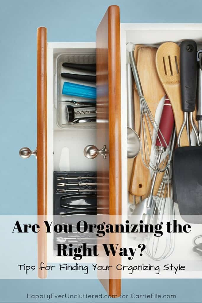 Organizing the Right Way