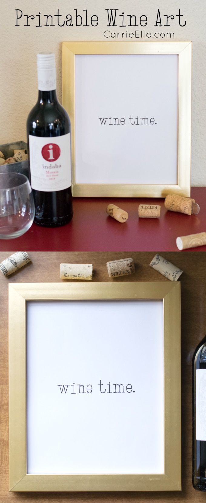 Printable Wine Art