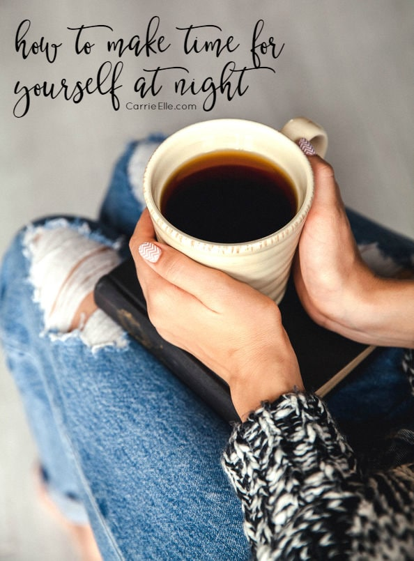 How to Make Time for Yourself at Night