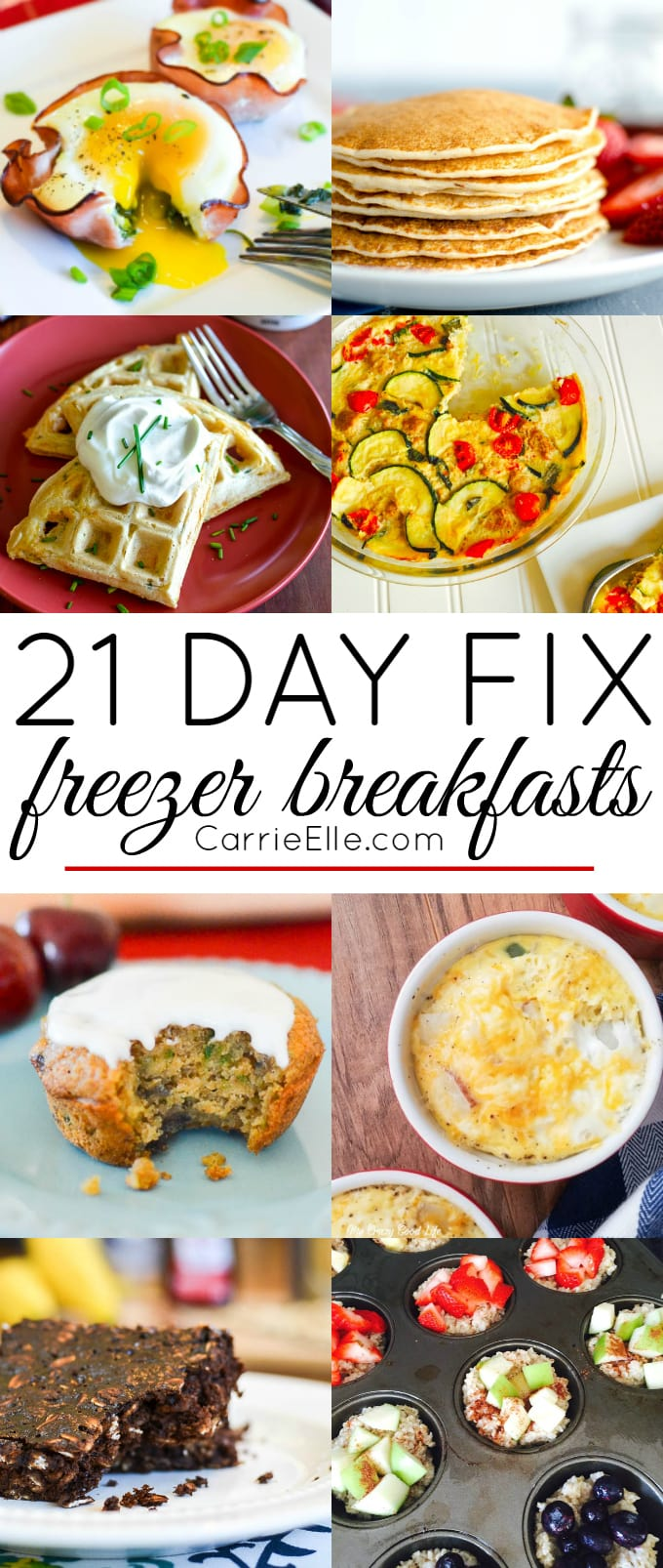 21 Day Fix Freezer Breakfasts