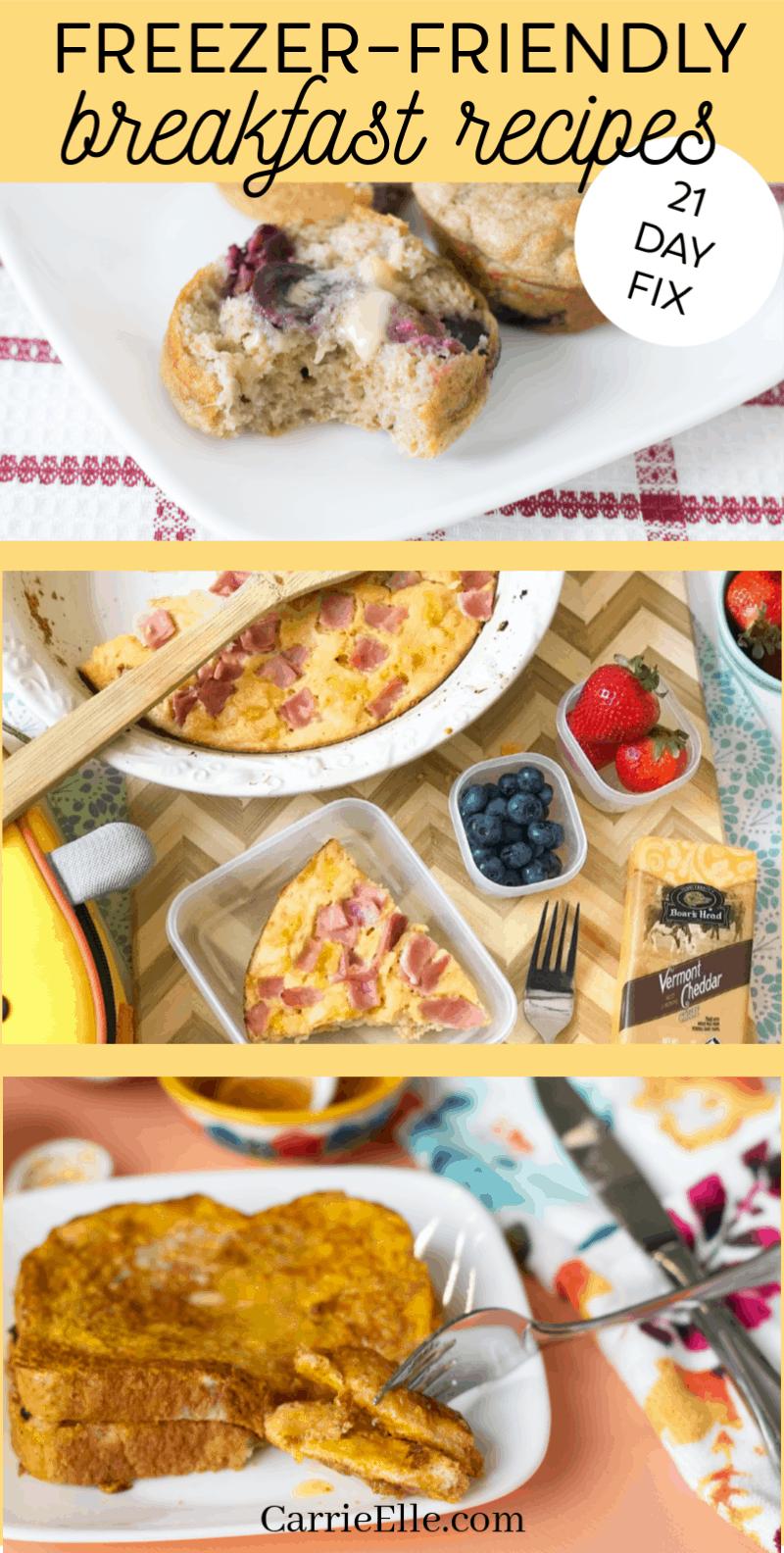 21 Day Fix Freezer-Friendly Breakfast Recipes