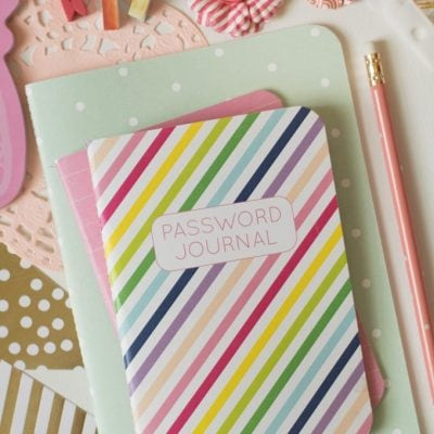Password Journal – Available Now