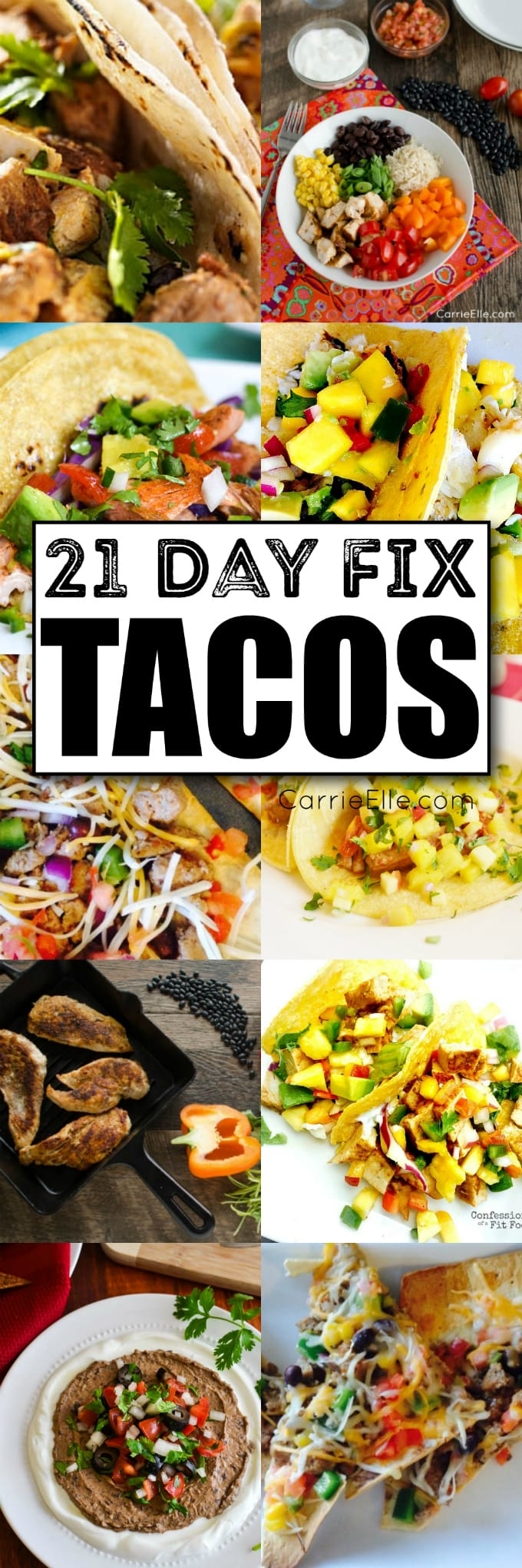 21 Day Fix Tacos