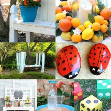 DIY Backyard Decor