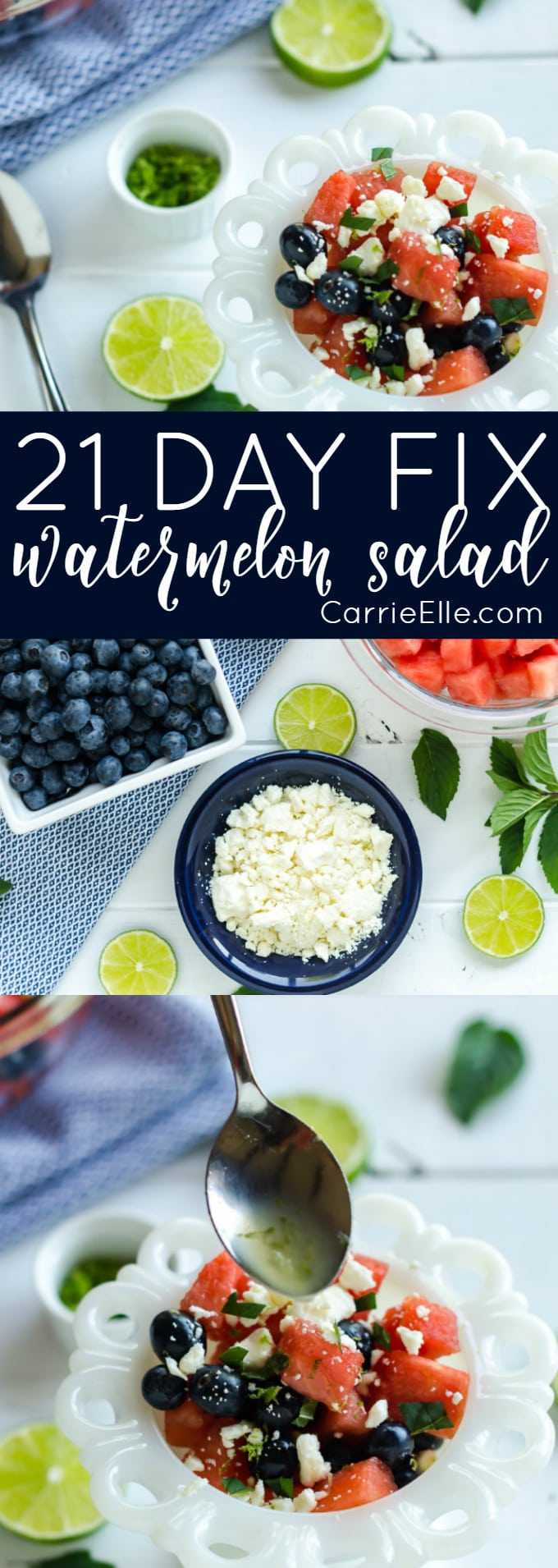 21 Day FIx Watermelon Salad
