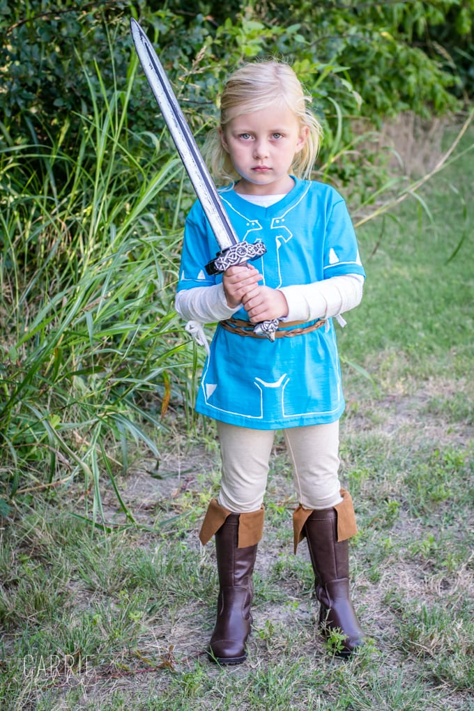 DIY Link Costume: Breath of the Wild - Carrie Elle