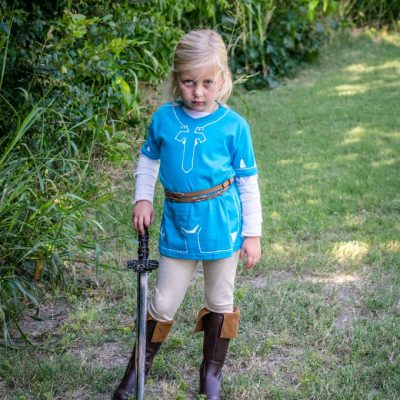 DIY Link Costume: Breath of the Wild