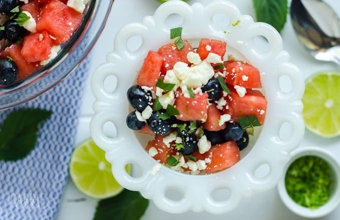 21 Day Fix Watermelon Salad