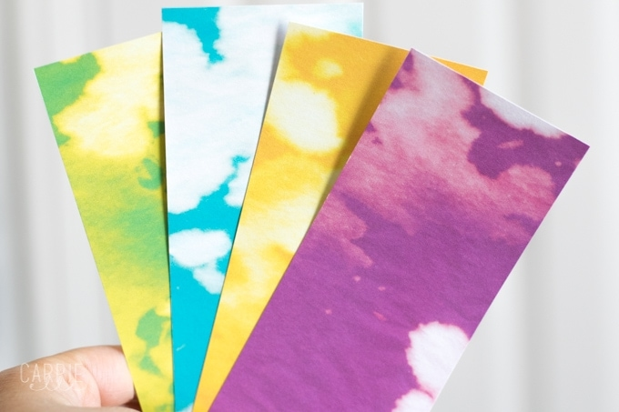 Splatoon Printable Bookmarks