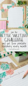 Letter Writing Challenge