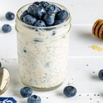 21 Day Fix Blueberry Overnight Oats